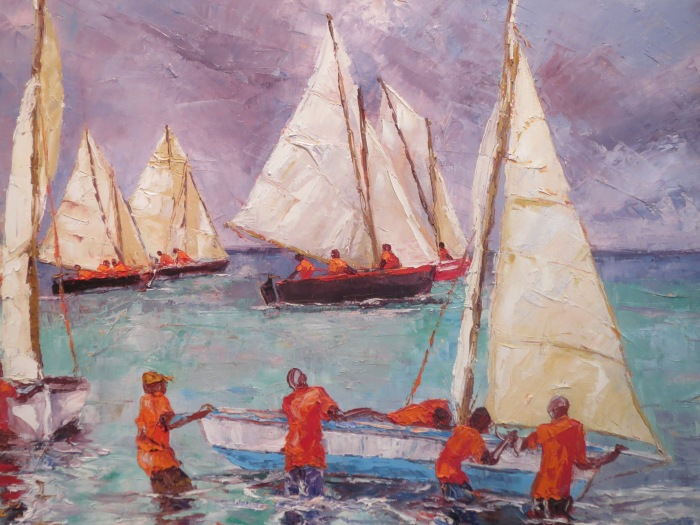 Susan Mains Rainy Day Regatta