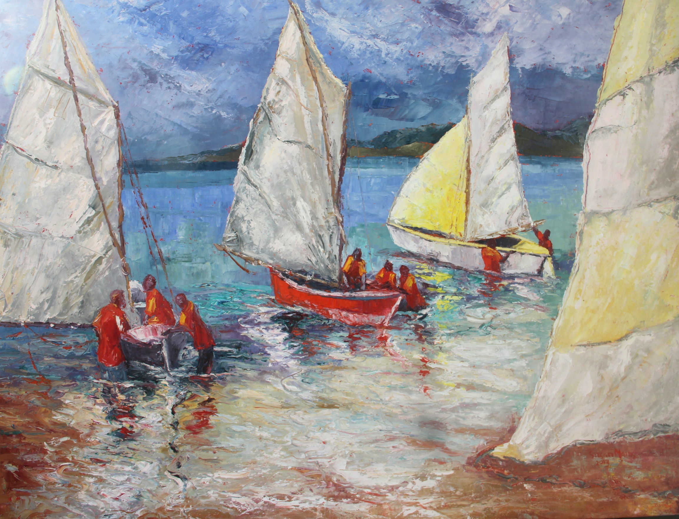 Susan Mains Sail of the Day