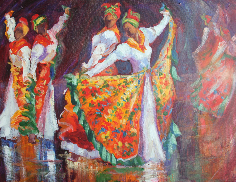 More Caribbean Dancing Girls From Susan Mains Susan