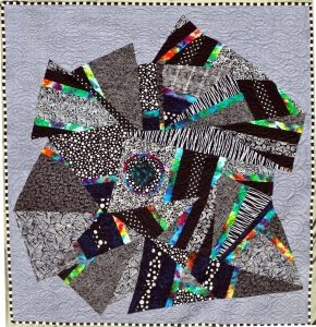 Centered Chaos - Xandra Shaw 70 in x 70 in